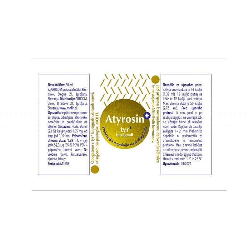 Atyrosin+ 30ml - nalepka