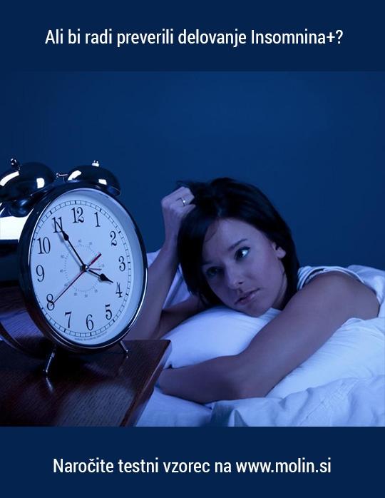 Motnje spanja